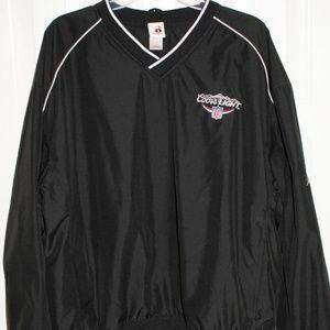 Coors Light/NFL Black Pullover Jacket, Black